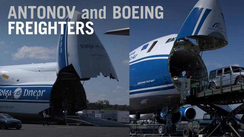 How Boeing 747 and Antonov An-124 Freighters Carry the World's Most Demanding Cargo