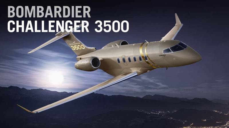 Bombardier's New Challenger 3500 Refreshes Its Super-midsize Business Jet Family